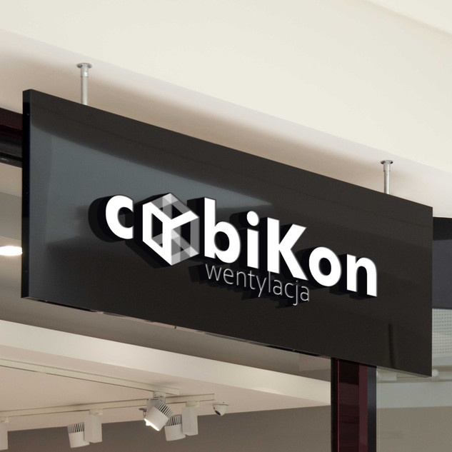 logo dla firmy cubikon