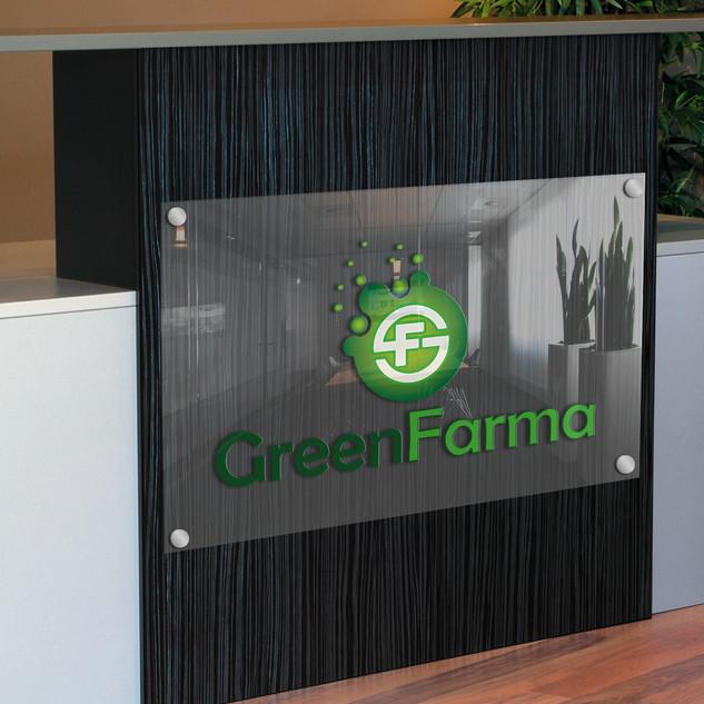 logo dla firmy greenfarma