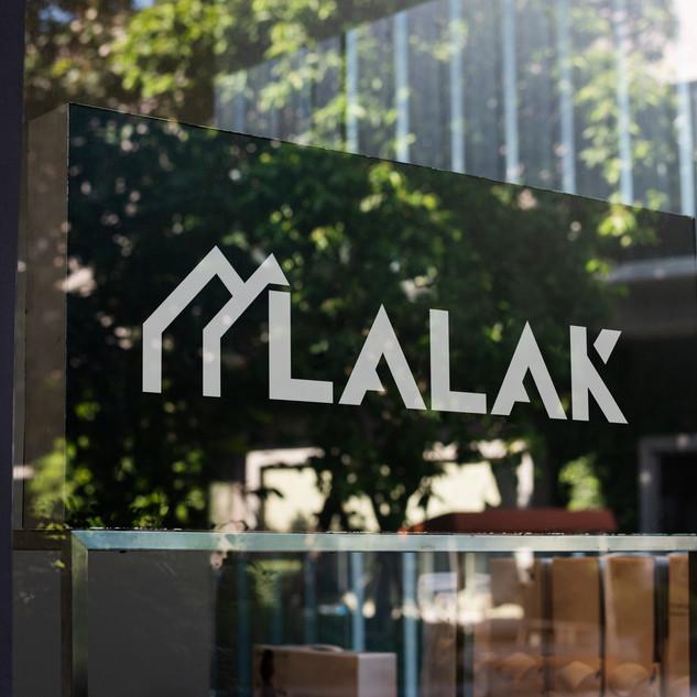 logo dla firmy LALAK