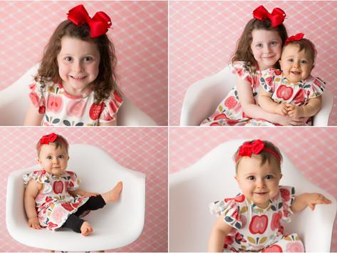 The Massey Girls | Athens, GA Child Portrait Photographer