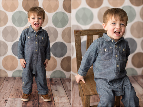 Beckett is Two! | Athens, GA Child Portrait Photographer