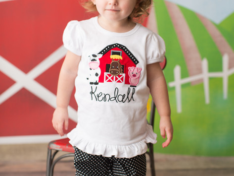 Kendall is Two! | Athens, GA Child Portrait Photographer
