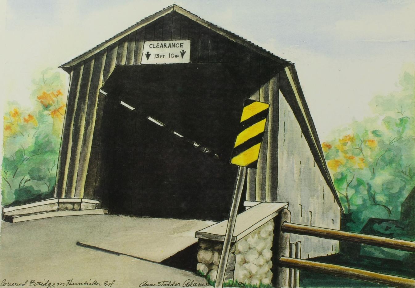 Covered Bridge on Hunsicker Rd_1