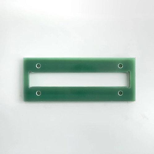 TWM-PS Tempering Bar Installation Board front
