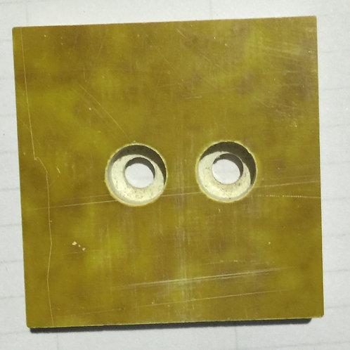 Chain Conveyor Yellow Plate (Bottom)