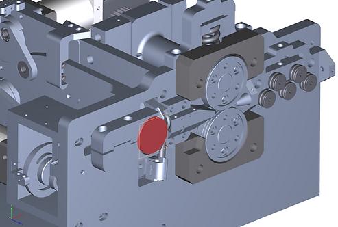 Coiler Forming Wheel