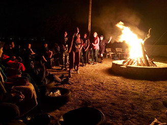 The Camp Fire is Burning