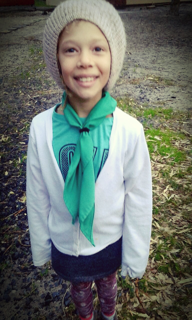 Cub Watson #ScoutScarfDay