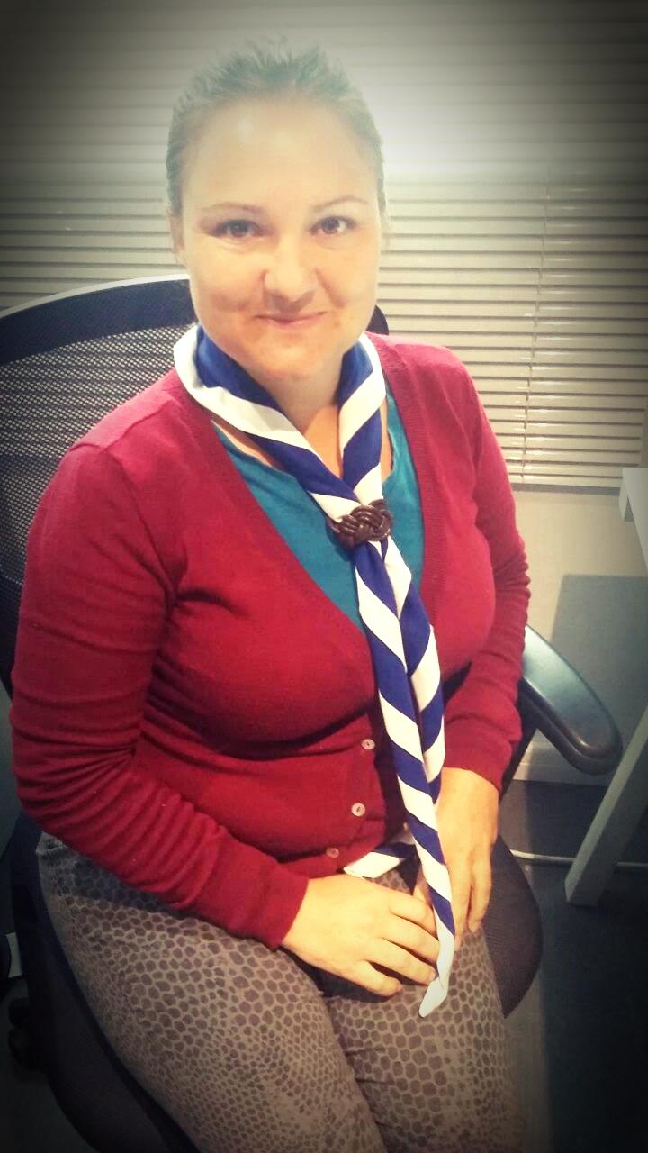ATS Meagan Richards #ScoutScarfDay
