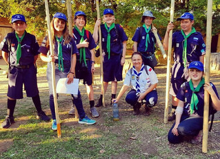 Upton Shield for Moms - 101 basics of Scouting competitions and team work.