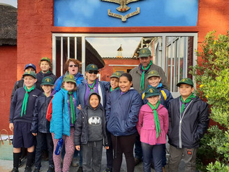 Pack Outing to Ysterplaat Airforce Base