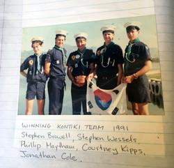 Winning-Kontiki-Team-1991