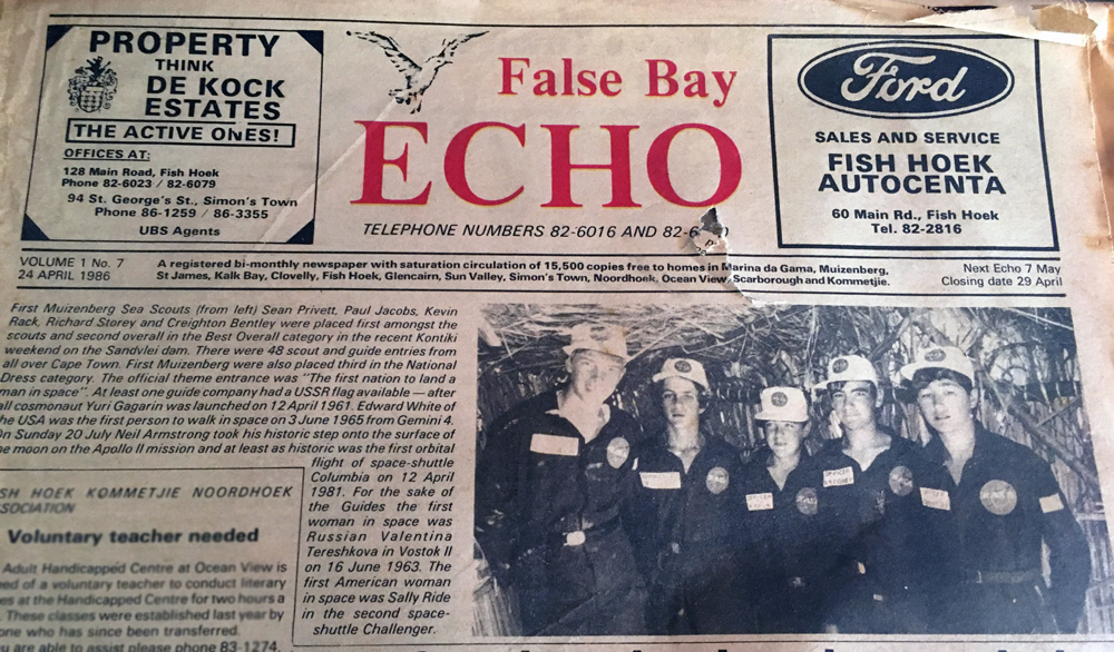 Article-in-the-False-Bay-Echo-1986