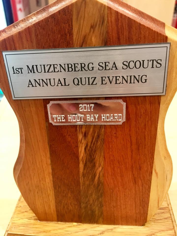 Annual Quiz Evening Trophy
