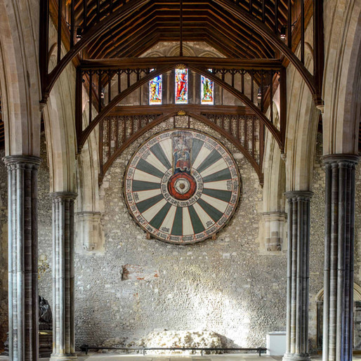 Relique arthurienne : la Table Ronde de Winchester