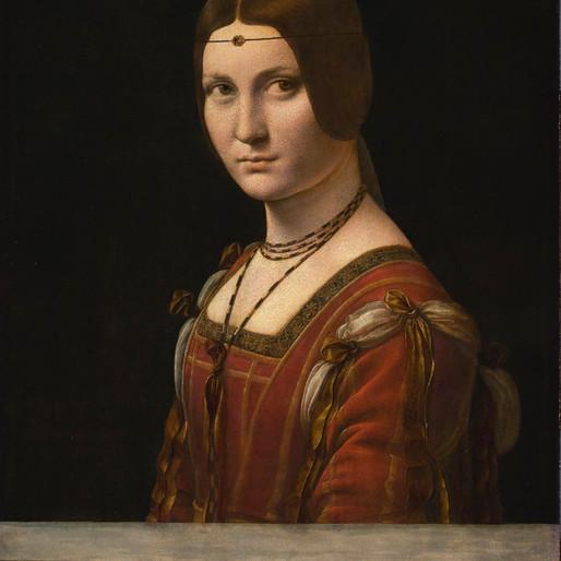 Léonard de Vinci au musée du Louvre