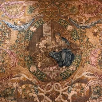 La salle des tissus du Château d'Ecouen- Musée national de la Renaissance