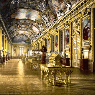 La Galerie d'Apollon, Musée du Louvre