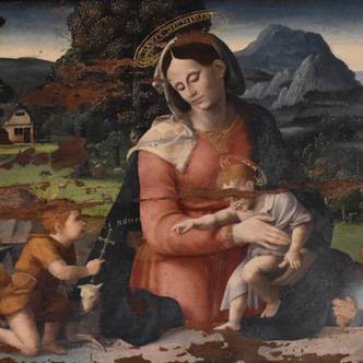 Deux tableaux de Grégoire Guérard, provenant d'un même ensemble, réunis