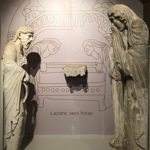 Le Tombeau de Lazare à Autun, saint écrin disparu