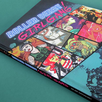 ROLLER DERBY GIRL GANG || Art Book