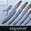 Thumbnail: Elite Switzerland 6pc Professional High Quality Knife Set