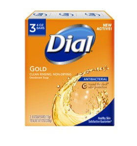 Dial Gold Deodorant Soap-3 Pack