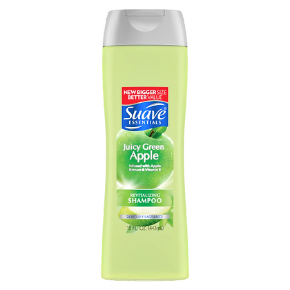 Suave Essentials Juicy Green Apple Shampoo