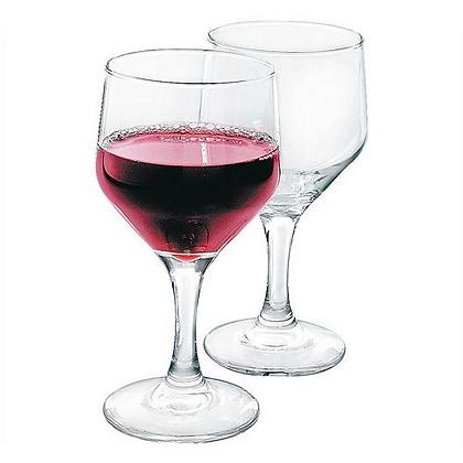 Cisper 6pc Bistro Wine Glass Set