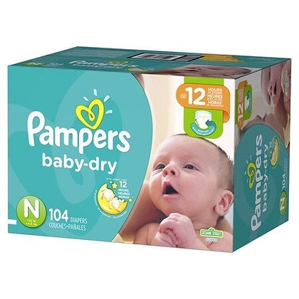 Pampers Baby Diapers - Newborn