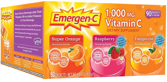Emergen-C 100mg Vitamin C