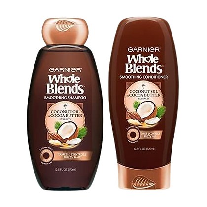 Garnier Whole  Blends Smoothing Set-Coconut Oil and Coconut Butter
