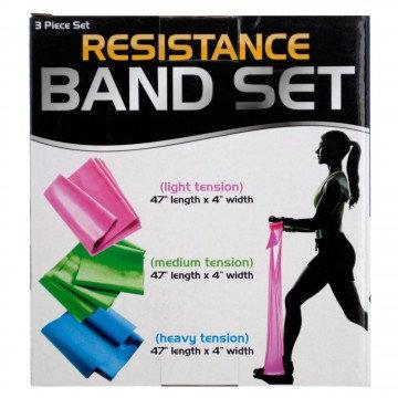 Resistance Band Set 3 Tension Levels