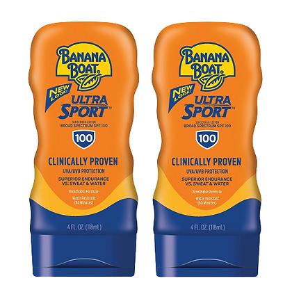 Banana Boat Ultra Sport Sunscreen Lotion