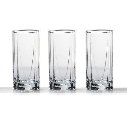 Pasabahce Luna 3pc Glass Set