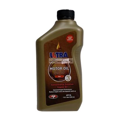 Ultra New & Improved Motor Oil