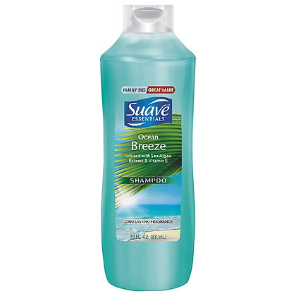 Suave Essentials Ocean Breeze Shampoo-Family Size