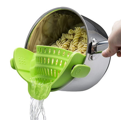 Snap Silicone Strainer