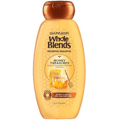 Garnier Whole Blends Repairing Shampoo-Honey Treasures