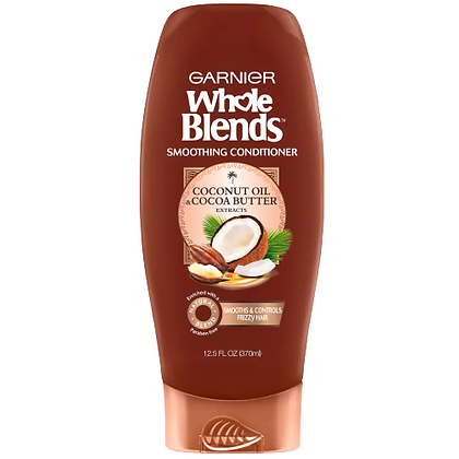 Garnier Whole  Blends Smoothing Shampoo-Coconut Oil and Coconut Butter