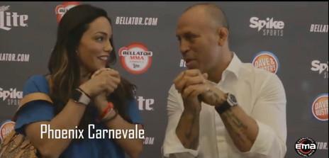 Interview with Wanderlei Silva at Bellator 180