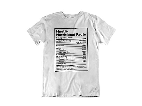 Hustle Facts Tee