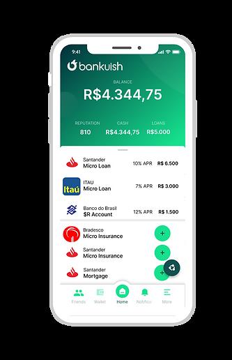 Banking portal Bankuish