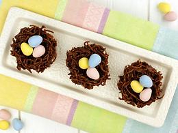 Gluten-Free Chocolate Coconut Nests