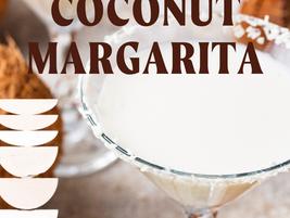 Easy Frozen Coconut Margarita