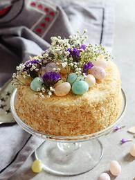 Coconut Easter Cake