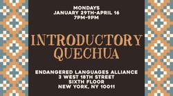 Intro Quechua Flyer