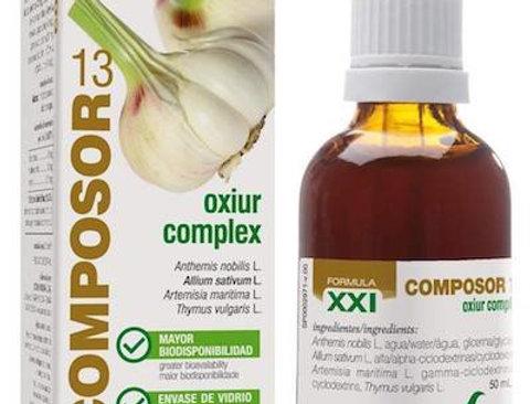 大蒜驅蟲蒿配方 Composor 13 - Oxiur Complex