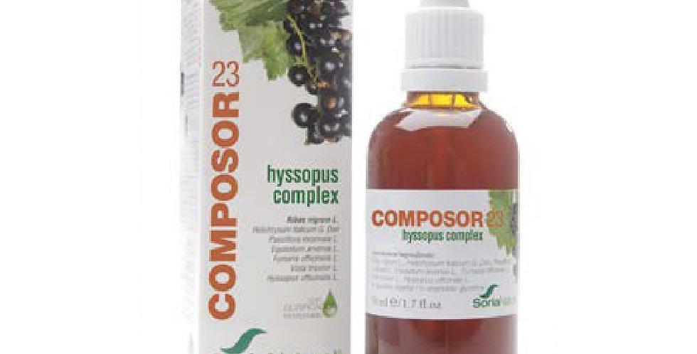 黑加侖子牛膝草複合配方 Composor 23 Hyssopus Complex