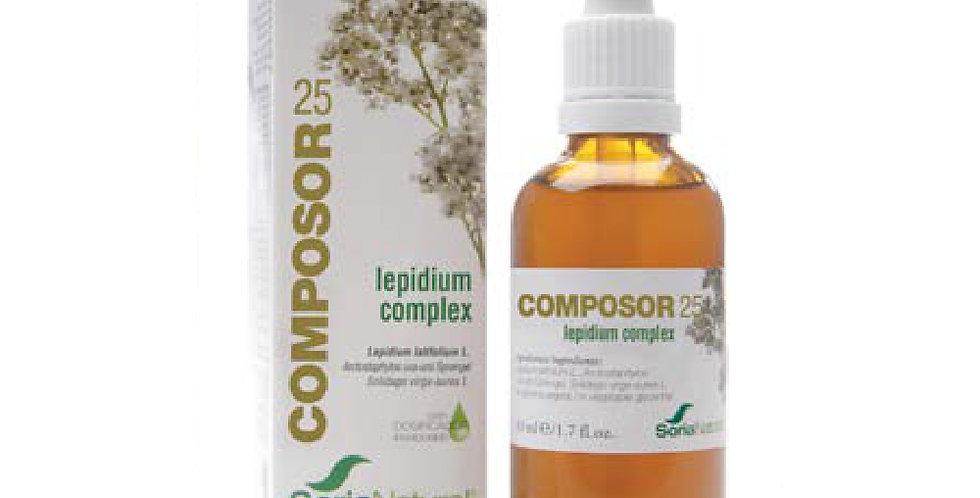寬葉獨行菜熊果複合精華 Composor 25 Lepidium Complex XXI